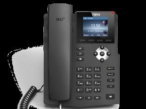 Fanvil 2SIP Gigabit Colour PoE VoIP Phone | X3G
