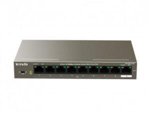 Tenda 9-Port Desktop Switch with 8-Port PoE - TEF1109P-8-102W